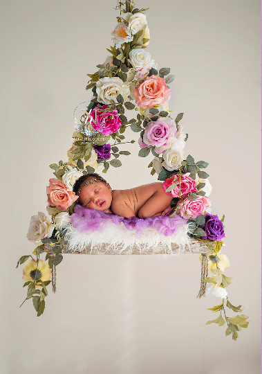 newborn digital backdrop for ariel