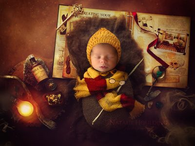 Harry Potter, Digital Backdrops, Newborns, Newborn backdrops, poppets, photography backdrops, digital photography, photoshop editing