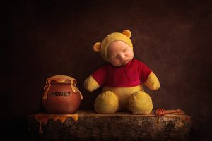Winnie the Pooh, Digital Backdrops, Newborns, Newborn backdrops, poppets, photography backdrops, digital photography, photoshop editing